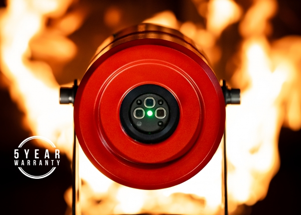 Micropack extends FDS303 infrared flame detector warranty to five years